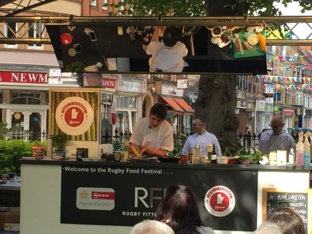 Rugby food festival