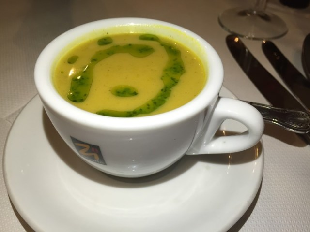 Veloute at La Margherita, Rugby