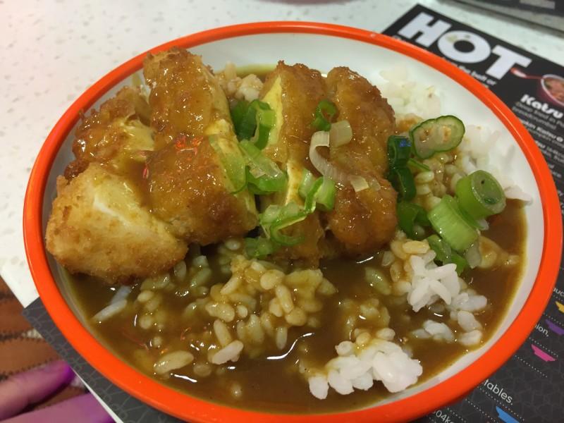 Tofu Katsu Curry at Yo Sushi