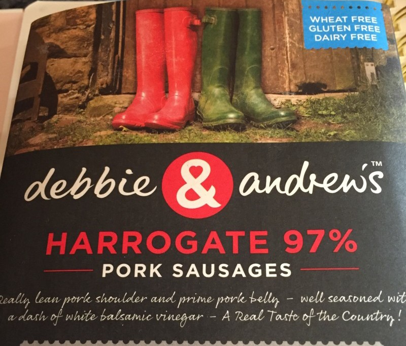 Debbie and Andrews sausages