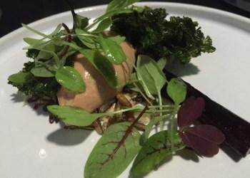Chicken liver parfait at Purnells, Birmingham