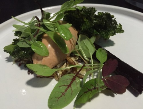 Chicken liver parfait at Purnells, Birmingham