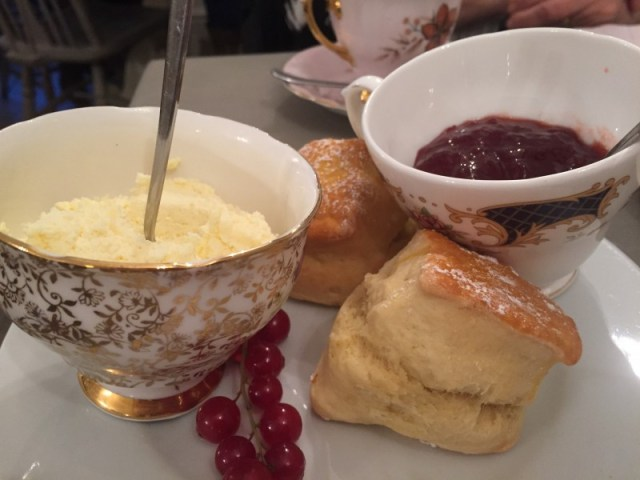 Scones and jam at Nook on the Square