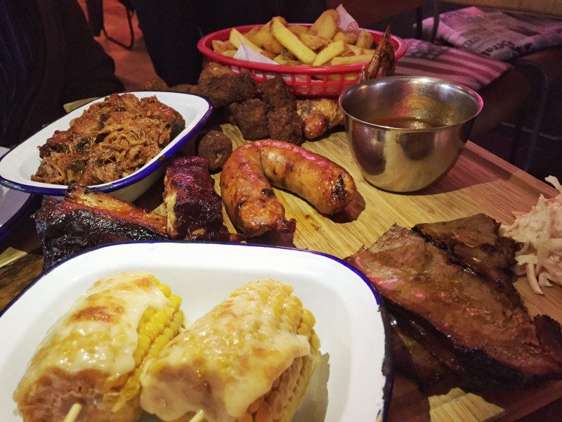 Platter at the Smoke Stop, Shropshire