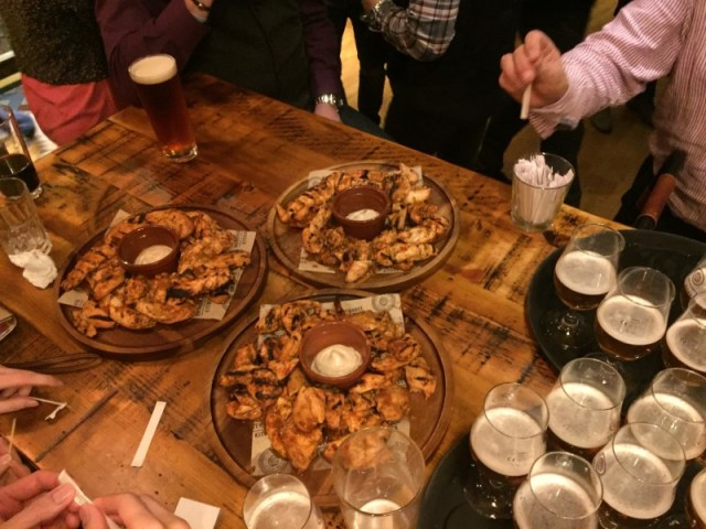 Beer and food pairings at Brewhouse & Kitchen