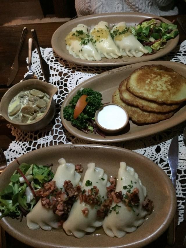 Meal at the Karczma, Birmingham