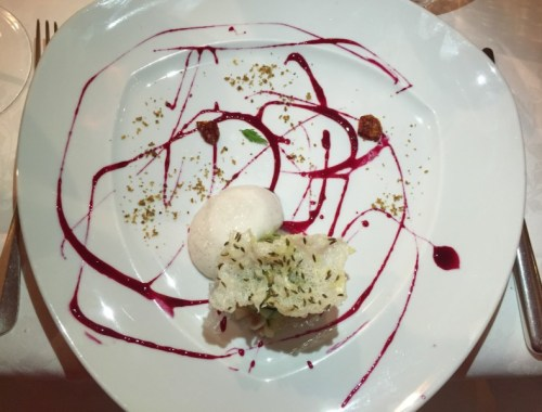 Lobster tartare at Tivoli, Cortina d'Ampezzo