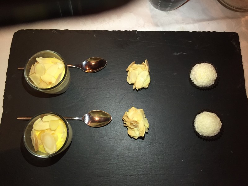 Petit fours at Tivoli, Cortina d'Ampezzo
