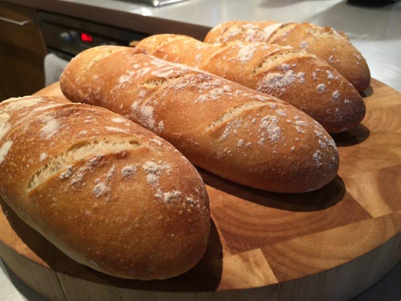 Freshly-baked bread