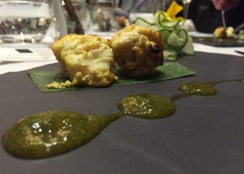 Tandoori Monkfish at Five Rivers, Walsall