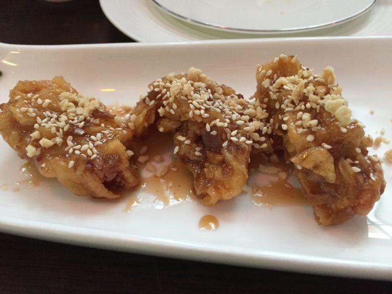Korean fried chicken at Modu, Birmingham