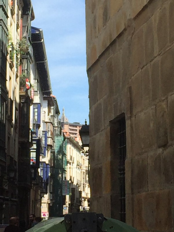 Streets in the Old Quarter, Bilbao