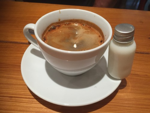 Coffee at Saint Kitchen, Birmingham