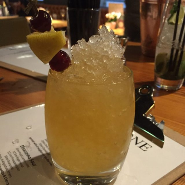 Disaronno Sour at All Bar One's cocktail masterclass