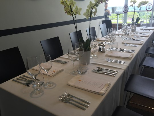 Dining at Goodwood Racecourse