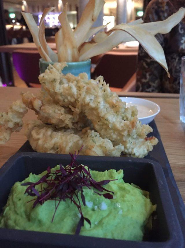 Japanese fish and chips at Rofuto, Birmingham