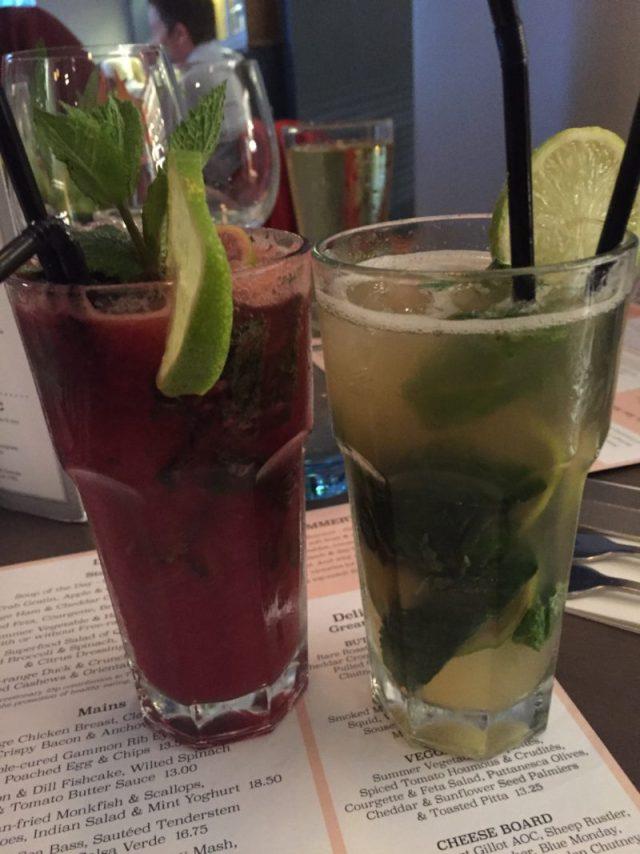 Cocktails at The Almanack, Kenilworth