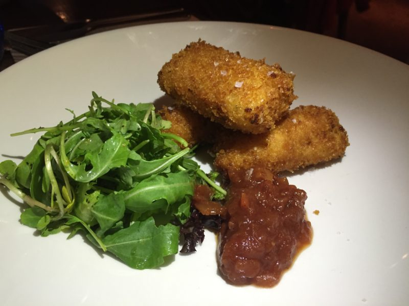 Ham & cheddar croquettes at The Almanack, Kenilworth