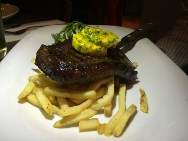 Rump cap steak at The Almanack, Kenilworth