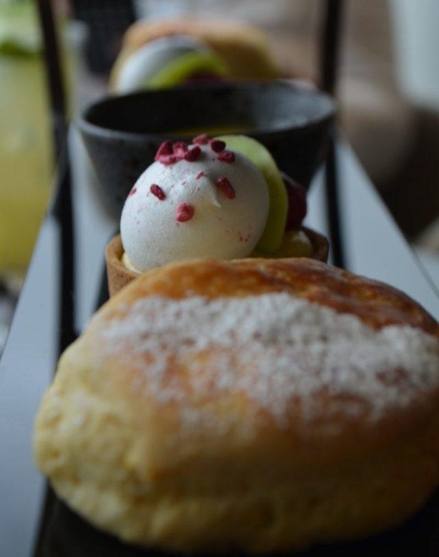 Orange scone at Robata, Resorts World