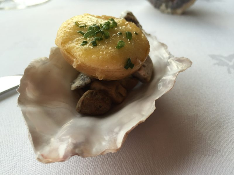 Porthilly Oysters at Driftwood, Portscatho