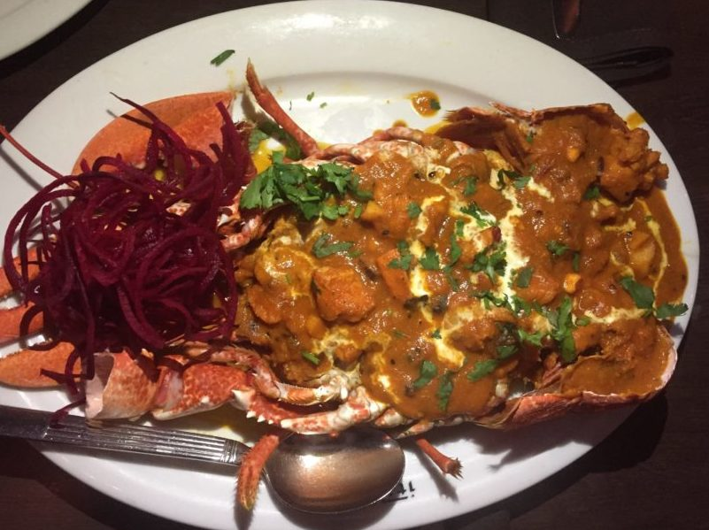 Lobster Panchporan at Itihaas, Birmingham