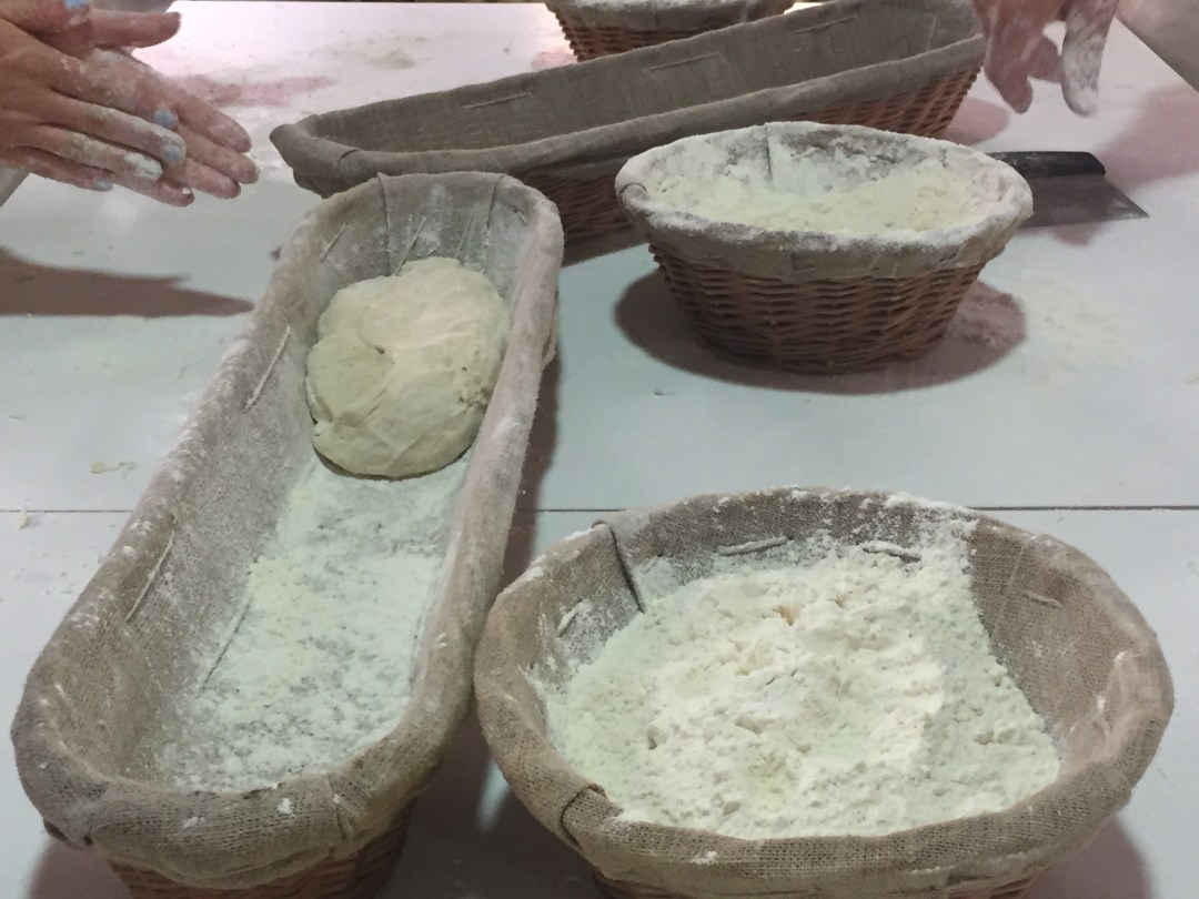 Shaping bread with Paul Bakery