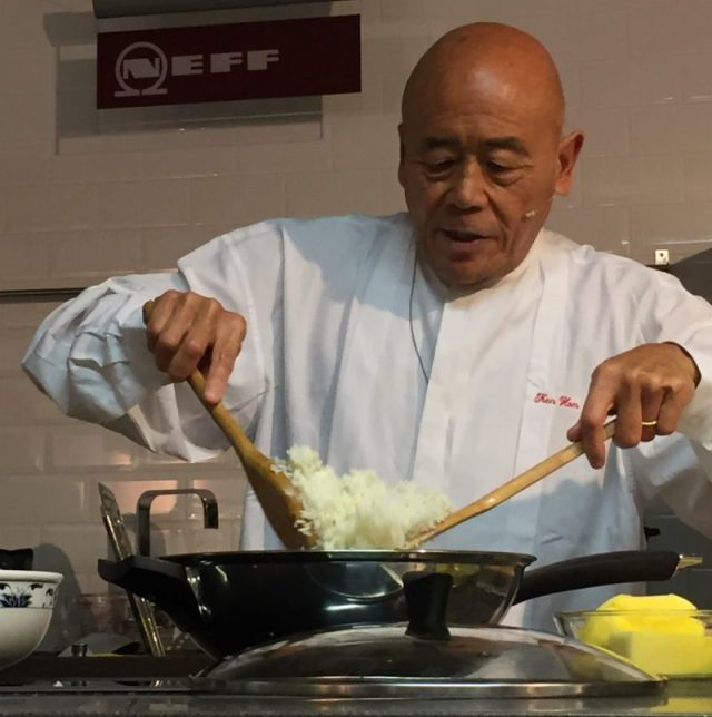 Ken Hom at Leekes, Coventry