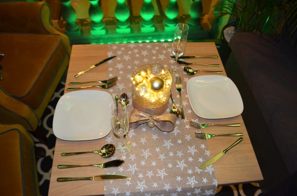 Setting the perfect Christmas table with Arthur Price