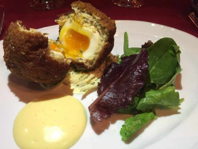 The Fat Fox Inn Scotch Egg