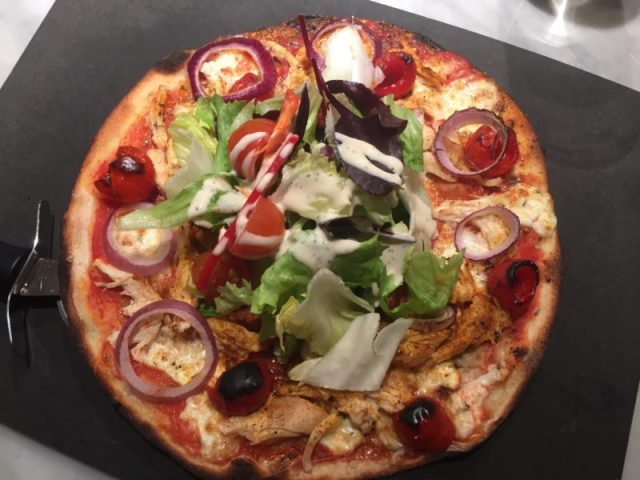 Leggera pizza at Pizza Express, Stratford upon Avon