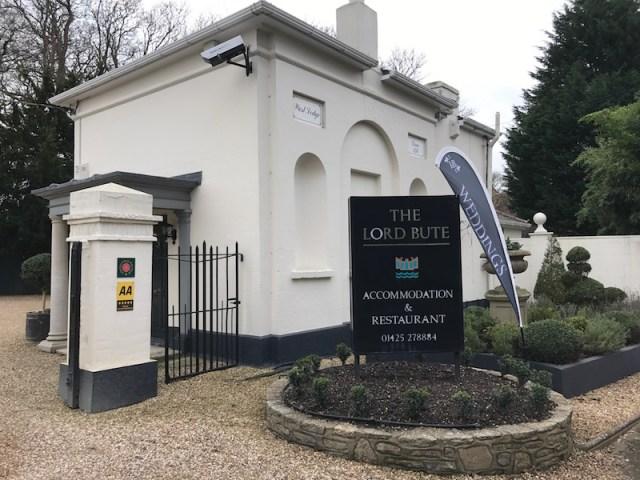 Lord Bute Hotel, Highcliffe, Dorset