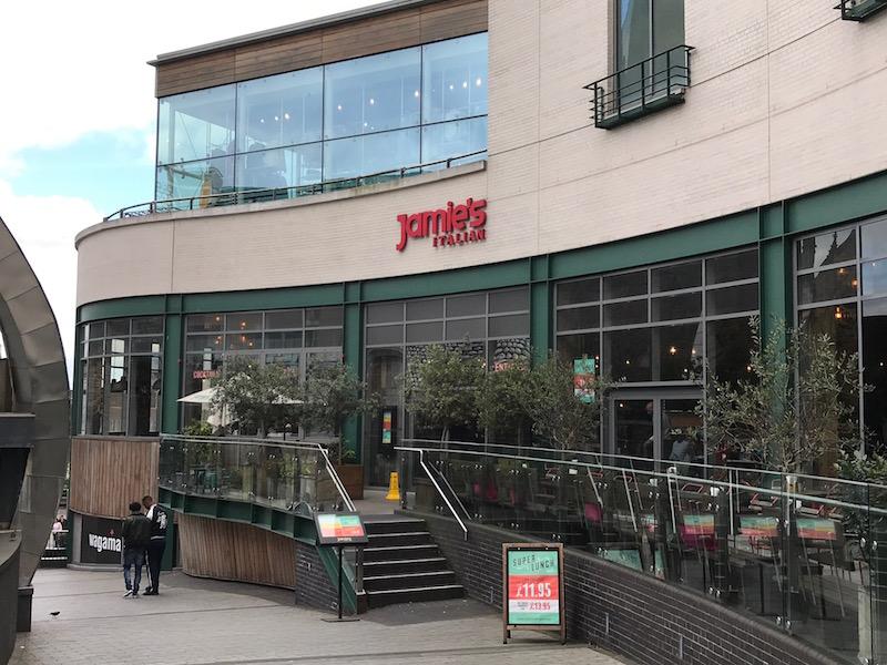 Jamie's Italian, Birmingham