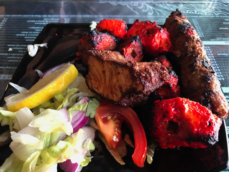 House Mix Grill starter at Shababs, Birmingham