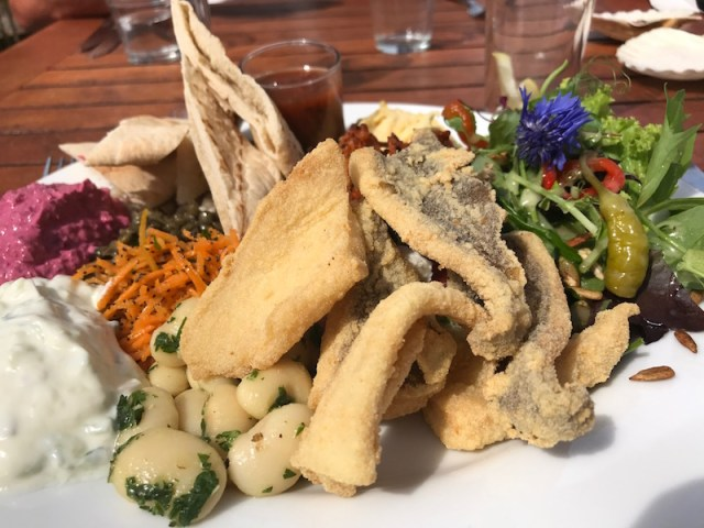Mezze at Vineyard Kitchen, Sharpham, Totnes