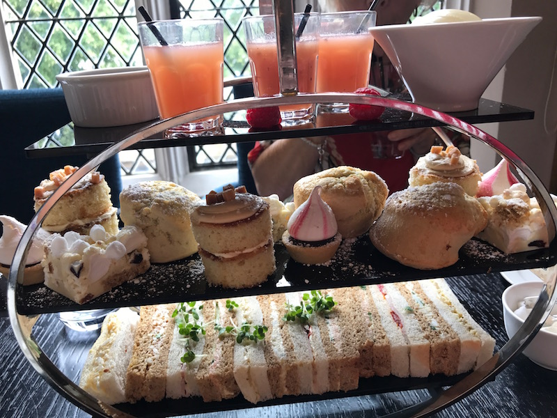 Afternoon tea at Whittles Restaurant, Audley Binswood, Leamington Spa