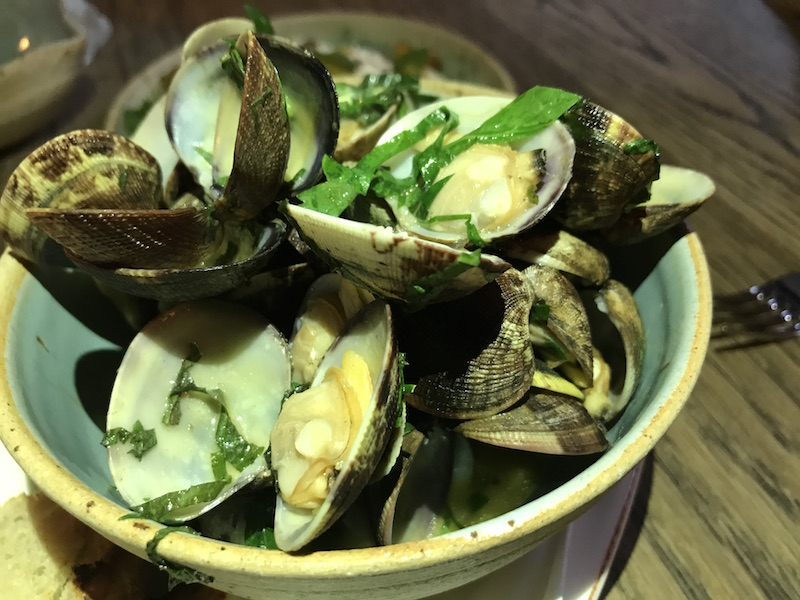 Palourde Clams at The Mash Inn, Radnage
