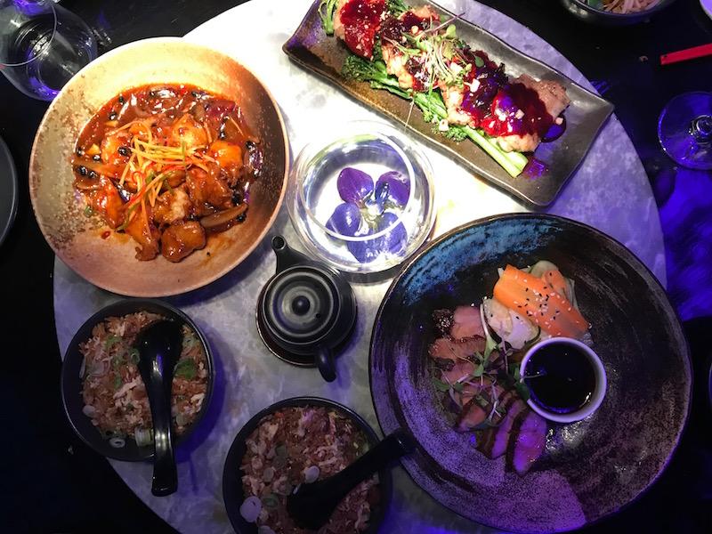 Dinner at Tattu, Leeds