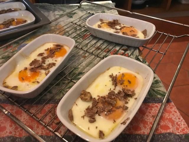 Truffle dinner at Tenuta Chiudendone, Tuscany