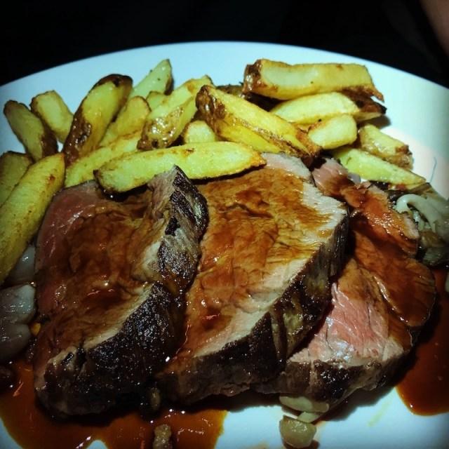 Beef fillet at The Old Bridge Inn, Aviemore