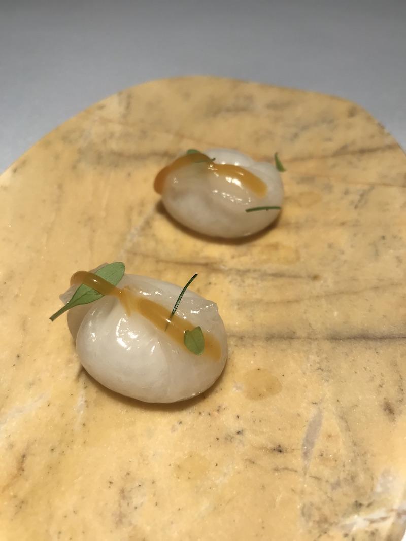 Coconut dumplings at El Rincon de Juan Carlos, Tenerife