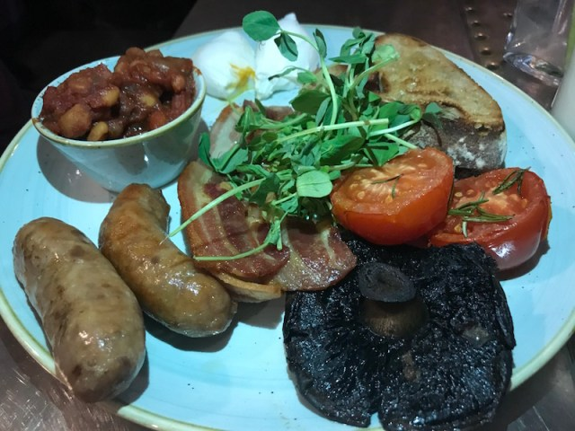 Breakfast at Jacobs Plough, Bicester