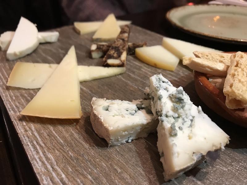 Cheese plate at El Borracho de Oro, Birmingham