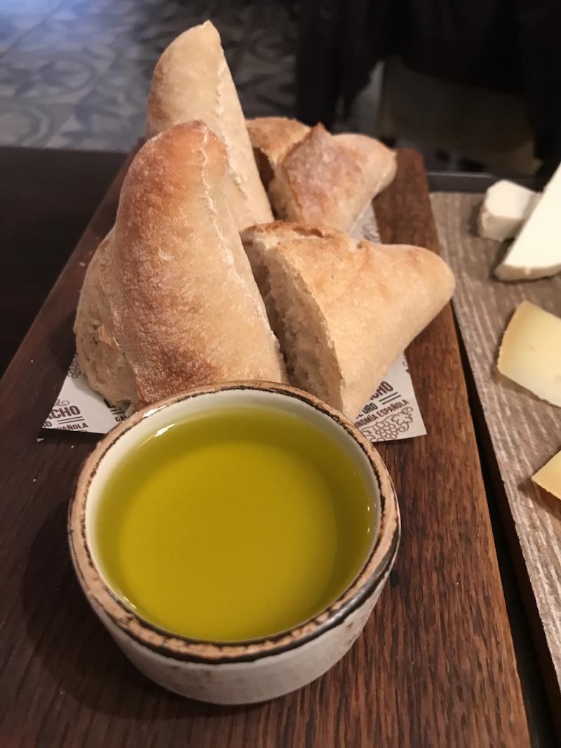 Bread at El Borracho de Oro, Birmingham