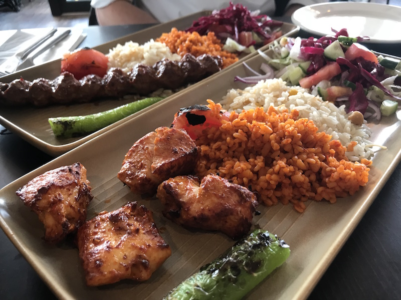 Chicken shish at Cappadocia, Birmingham