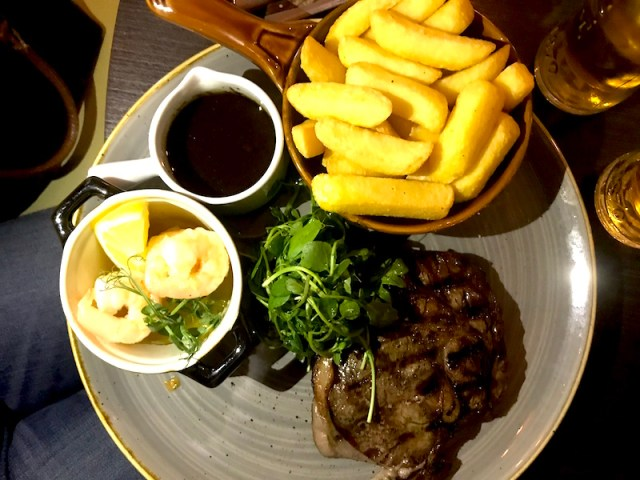 Steak at Queen's Road, Coventry