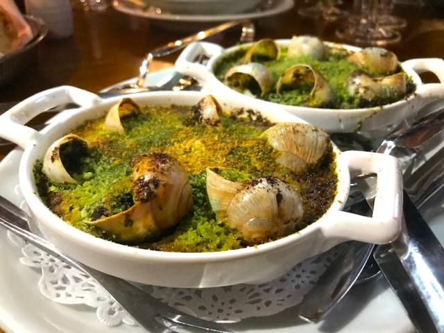 Snails at Hotel du Vin, Birmingham