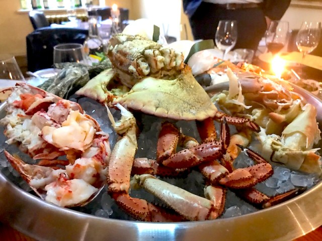 Fruits de Mer at Hotel du Vin
