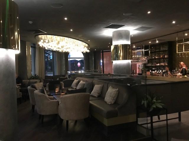 Bar area at Opheem, Birmingham