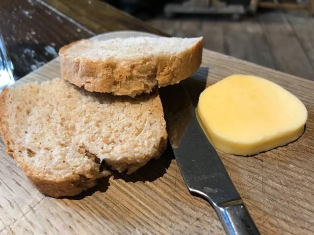 Bread at Felin Fach Griffin